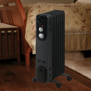 Duraflame 1,500 Watt Portable Electric Radiant Radiator Heater