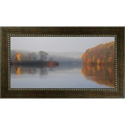 MidwestArtFrame Early Fall Morning by Michael Cahill Framed Photographic Print