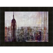 MidwestArtFrame Shades of New York by Markus Haub Framed Painting Print