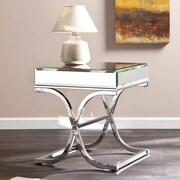 Wildon Home   Caraman Mirrored End Table