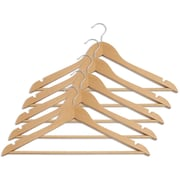 Closet Complete Luxurious Wood Suit Hangers (Set of 80)