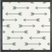 Petal Lane Patterns Arrow Magnetic Board; 1' 4'' H x 1' 4'' W