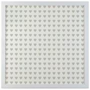 Petal Lane Patterns Mini Heart Magnetic Board; 1' 4'' H x 1' 4'' W