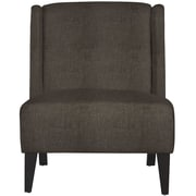 angelo:HOME Barton Wingback Chair in Brown