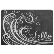 Bungalow Flooring Surfaces Wave Hello Accent Doormat
