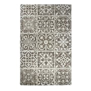 Dynamic Rugs Casual Charcoal Area Rug; 2' x 4'