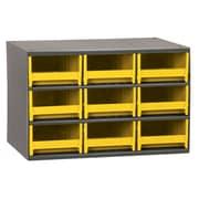 Akro Mils 19-Series 17'' Steel Cabinet; Yellow