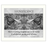 Trendy Decor 4U Significance Framed Photographic Print