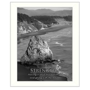 Trendy Decor 4U Strength Framed Photographic Print