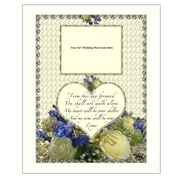 Trendy Decor 4U From this Day Wedding Framed Graphic Art; 20'' H x 16'' W x 1.5'' D