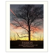 Trendy Decor 4U Passion Framed Photographic Print; 20'' H x 16'' W x 1.5'' D