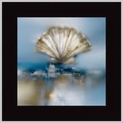 MidwestArtFrame Blue Shores Clam by J.P. Prior Framed Painting Print