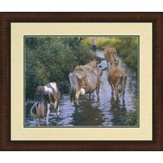 MidwestArtFrame Come On Girls by Robert Duncan Framed Painting Print
