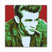 Picture it on Canvas 8 Bit Rebel Modern Graphic Art on Wrapped Canvas