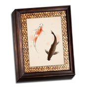 Picture it on Canvas Asian Paintings Koi Fish Painting Print on Wrapped Canvas
