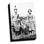 Picture it on Canvas Anaglyph Dayak 3D Photographic Print on Wrapped Canvas