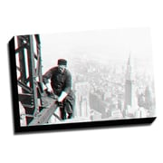 Picture it on Canvas Anaglyph Skyscraper 3D Photographic Print on Wrapped Canvas
