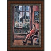 MidwestArtFrame La Vie en Rose by Didier Lourenco Framed Painting Print