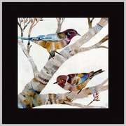 MidwestArtFrame Warblers II by Dolan Geiman Framed Painting Print