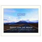 Trendy Decor 4U Goals Framed Photographic Print