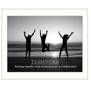 Trendy Decor 4U Teamwork Framed Photographic Print