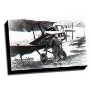 Picture it on Canvas Anaglyph Airforce 3D Photographic Print on Wrapped Canvas