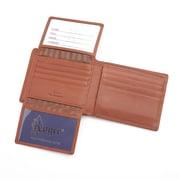 Royce Leather RFID Blocking Bifold Wallet, Genuine Leather, Tan (RFID-109A-TN-5)