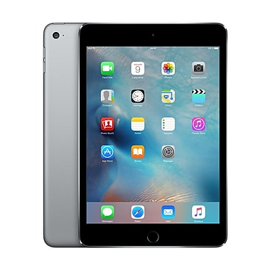 Apple - iPad mini 4, 7,9 po, puce A8, Wi-Fi, 64 Go, gris cosmique