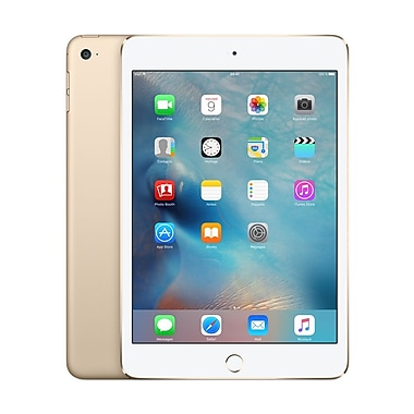 Apple - iPad mini 4, 7,9 po, puce A8, Wi-Fi, 64 Go, or