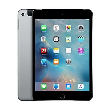 Apple - iPad mini 4, 7,9 po, puce A8, Wi-Fi + Cellular, 128 Go, gris cosmique