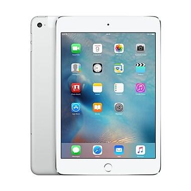 Apple - iPad mini 4, 7,9 po, puce A8, Wi-Fi + Cellular, 128 Go, argent