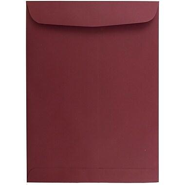 JAM Paper® 9 x 12 Open End Catalog Envelopes, Dark Red, 10/pack (31287532B)