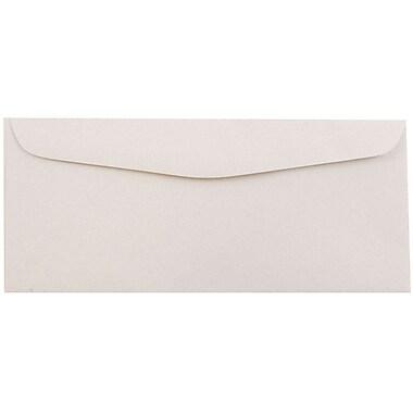 JAM Paper® #10 Business Envelopes, 4 1/8 x 9 1/2, Rose Quartz Recycled, 25/pack (57132)