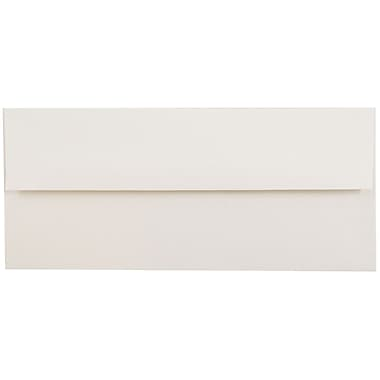 JAM Paper® #10 Business Envelopes, 4 1/8 x 9 1/2, Talc White Recycled, 1000/carton (900678810B)