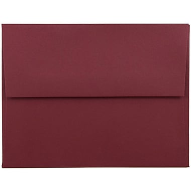 JAM Paper® A2 Invitation Envelopes, 4 3/8 x 5 3/4, Dark Red, 1000/carton (31511305B)