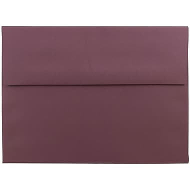JAM Paper® A7 Invitation Envelopes, 5.25 x 7.25, Burgundy, 1000/carton (36395846B)