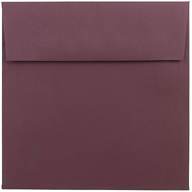 JAM Paper® 6 x 6 Square Envelopes, Burgundy, 25/pack (36395838)