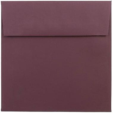 JAM Paper® 6 x 6 Square Envelopes, Burgundy, 1000/carton (36395838B)