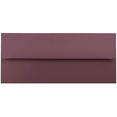 JAM Paper® #10 Business Envelopes, 4 1/8 x 9 1/2, Burgundy, 1000/carton (36395840B)