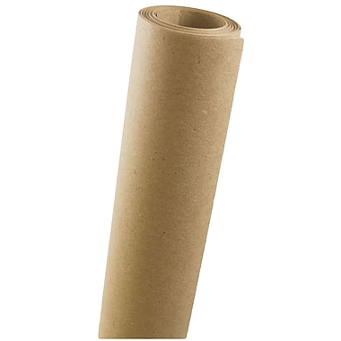 JAM Paper® 37.5 sq ft Solid Wrapping Paper, Recycled Brown Kraft, Sold Individually