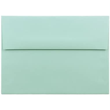 JAM Paper® A7 Invitation Envelopes, 5.25 x 7.25, Aqua Blue, 25/pack (1523985)