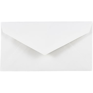JAM Paper® Monarch Envelopes, 3 7/8 x 7 1/2, White, 1000/carton (04093007B)