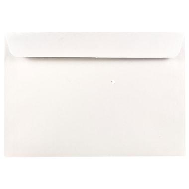 JAM Paper® 6.5 x 9.5 Booklet Envelopes, White, 1000/carton (04241B)