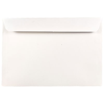 JAM Paper 7 x 10 Booklet Envelopes White 25 pack 5528