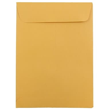 JAM Paper® 5.5 x 7.5 Open End Catalog Envelopes, Brown Kraft Recycled, 25/pack (4101)