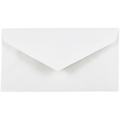 JAM Paper 7 3 4 Monarch Envelopes 3 7 8 x 7 1 2White 25 pack 1633984