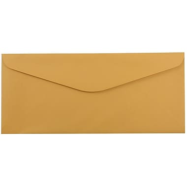 JAM Paper® #14 Business Commercial Envelopes, 5 x 11.5, Brown Kraft, 25/pack (1633182)