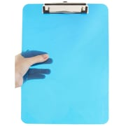 JAM Paper® Plastic Clipboard, Blue, 1 Each, Sold Individually