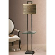 Uttermost Stabina 67'' H Table Lamp with Drum Shade