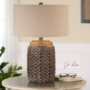 Uttermost Bucciano 24.5'' H Table Lamp with Drum Shade